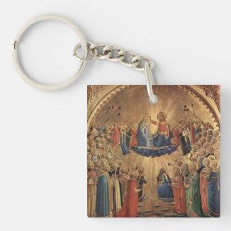 Fra Angelico Art Acrylic Keychain