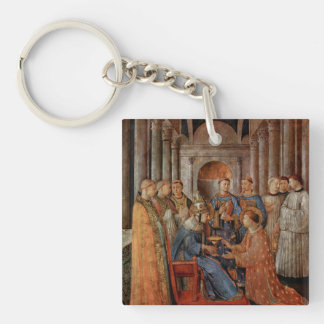 Fra Angelico Art Square Acrylic Key Chains