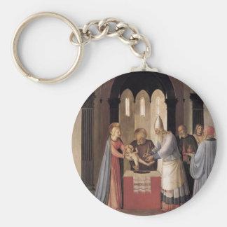 Fra Angelico- Circumcision Key Chain