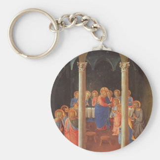 Fra Angelico- Communion of the Apostles Keychain