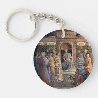 Fra Angelico- Condemnation of St. Lawrence Keychain