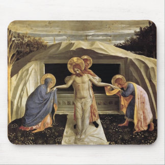 Fra Angelico- Entombment Mouse Pad