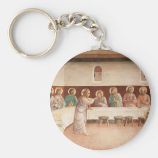 Fra Angelico- Institution of the Eucharist Key Chain