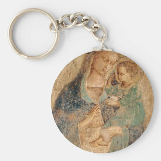 Fra Angelico- Madonna and Child Key Chains