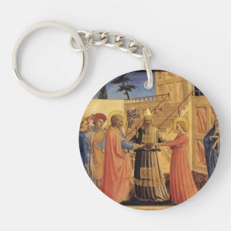 Fra Angelico- Marriage of the Virgin Acrylic Keychains