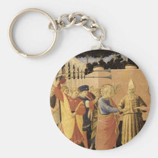 Fra Angelico- Marriage of the Virgin Keychain