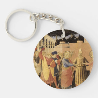 Fra Angelico- Marriage of the Virgin Acrylic Key Chains