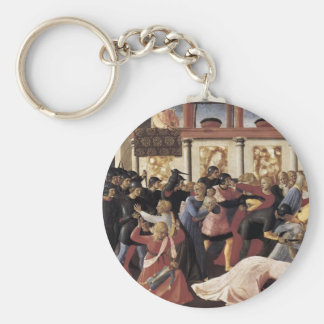 Fra Angelico- Massacre of the Innocents Keychains