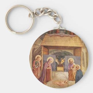 Fra Angelico- Nativity Key Chain