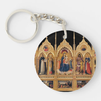 Fra Angelico- Perugia Altarpiece Acrylic Key Chains