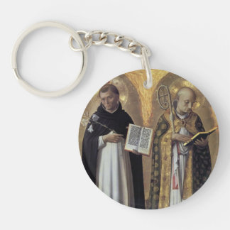 Fra Angelico- Perugia Altarpiece (left panel) Acrylic Key Chains