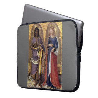 Fra Angelico- Perugia Altarpiece (right panel) Computer Sleeves