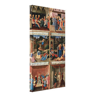 Fra Angelico - Scenes from the life of Christ Gallery Wrapped Canvas