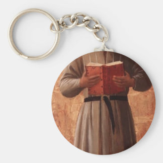 Fra Angelico- St. Jerome Key Chain