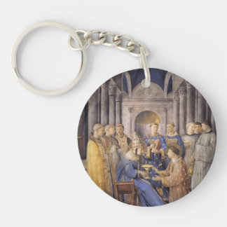 Fra Angelico- St. Peter Consacrates St. Lawrence Acrylic Key Chain