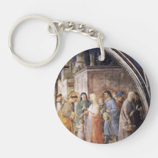 Fra Angelico- St. Stephen Distributing Alms Acrylic Keychains
