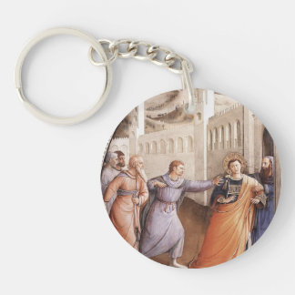 Fra Angelico- St. Stephen Led to his Martyrdom Keychain