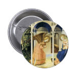 Fra Angelico The Annunciation Button