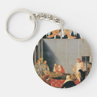 Fra Angelico- The Death of the Saint Key Chains