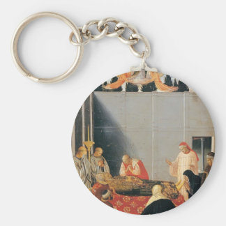 Fra Angelico- The Death of the Saint Keychains