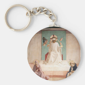 Fra Angelico- The Mocking of Christ Key Chains