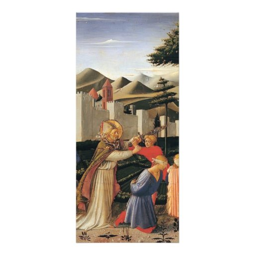 Fra Angelico- The Story of St. Nicholas Custom Rack Card