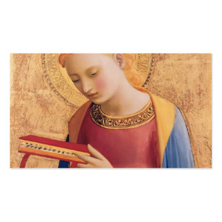 Fra Angelico- Virgin Mary Annunciate Business Card Template
