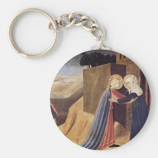 Fra Angelico- Visitation Keychains
