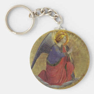 Fra Angelico's Angel of Annunciation Key Chains