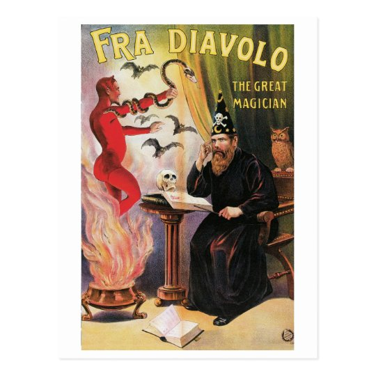 Fra Diavolo ~ The Great Magician Vintage Magic