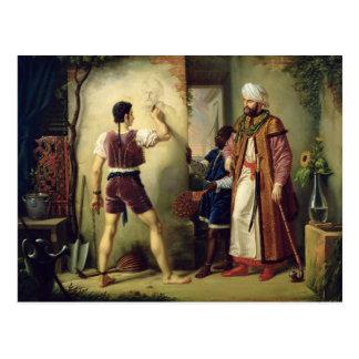Fra Filippo Lippi  1819 Postcard