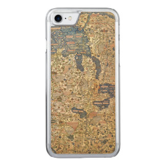 Fra Mauro Map Carved iPhone 7 Case