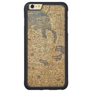 Fra Mauro Map Carved® Maple iPhone 6 Plus Bumper Case