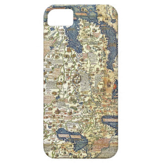 Fra Mauro Map iPhone 5 Cover