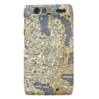 Fra Mauro Map Droid RAZR Covers