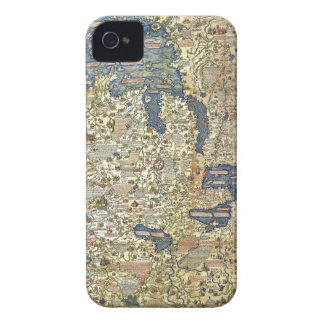 Fra Mauro Map Case-Mate iPhone 4 Case