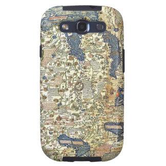 Fra Mauro Map Samsung Galaxy SIII Case