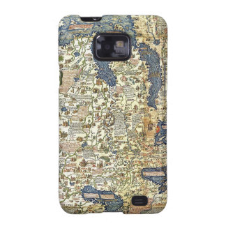 Fra Mauro Map Galaxy S2 Cases