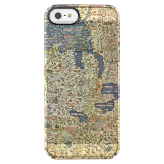 Fra Mauro Map Clear iPhone SE/5/5s Case