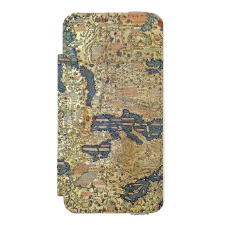 Fra Mauro Map Incipio Watson™ iPhone 5 Wallet Case