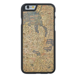 Fra Mauro Map Carved® Maple iPhone 6 Slim Case