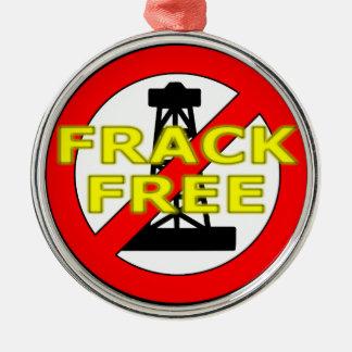Frack Free UK Christmas Ornament
