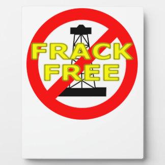Frack Free UK Plaque
