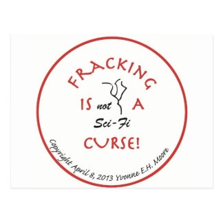 Fracking Curse.jpg Postcard