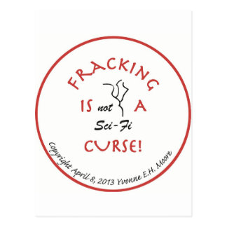 Fracking Curse jpg Postcard