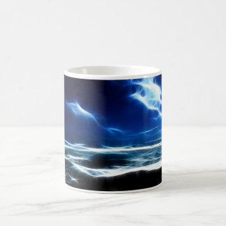 Fract-a-seascape Coffee Mugs