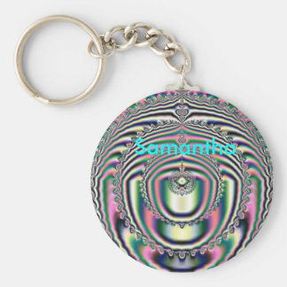 Fractal 10, Samantha, Key Chain