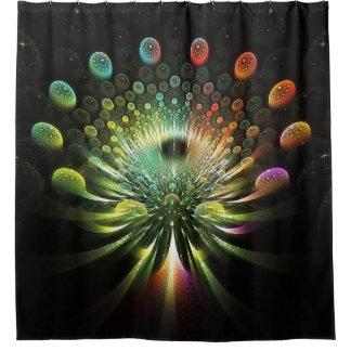 fractal 161 shower curtain