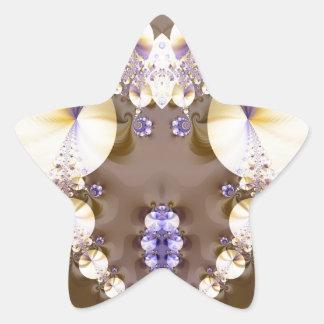 Fractal 314 star sticker