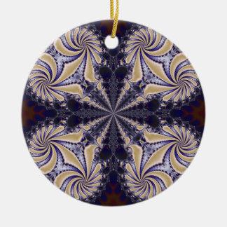 Fractal 592 christmas ornament
